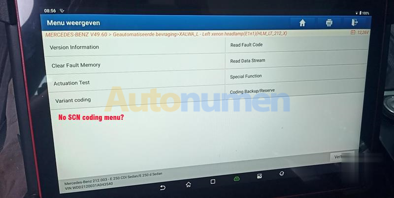 How to Enable SCN Coding Menu in Launch X431 PAD V VII-1 (2)