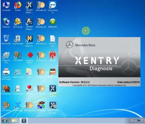 Active - Vxdiag - Benz - Xentry - 03