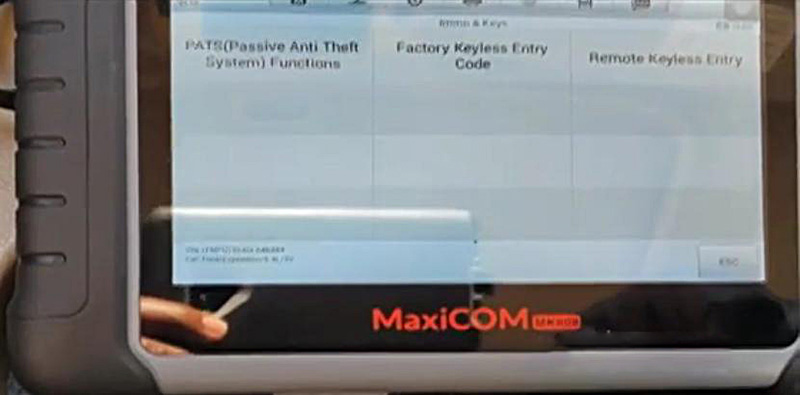 How-to-add-key-for-Ford-Expedition-by-Autel-MK808-1