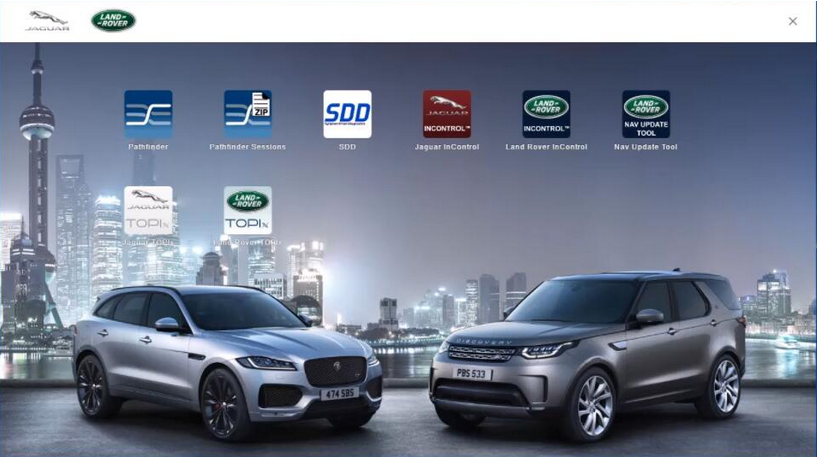 JLR SDD software