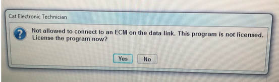 not-allowed-to-connect-to-an-ecm-on-the-data-link-this-program-is-not-licensed-cat-et-sis-unlicensed
