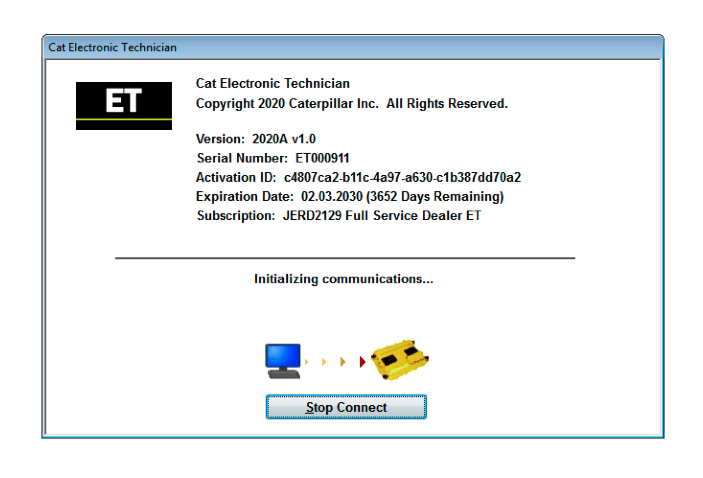 Caterpillar-Electronic-Technician-(Cat-ET-2020A)-Full-Service-Dealer-1