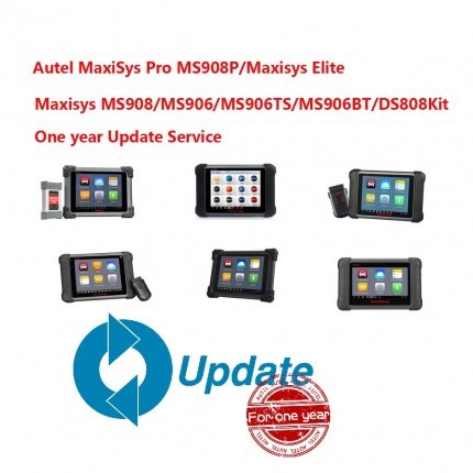 autel maxisys update cost