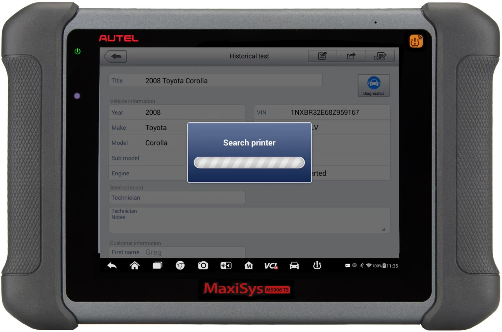 Autel-MaxiSYS-tablet-WIFI-PRINTING-Instruction-Guide-14