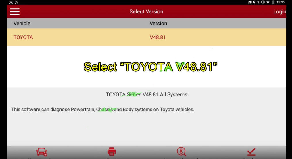 Toyota-Crown-2013-All-Keys-Lost-&-Remote-Programming-by-Launch-X431-1