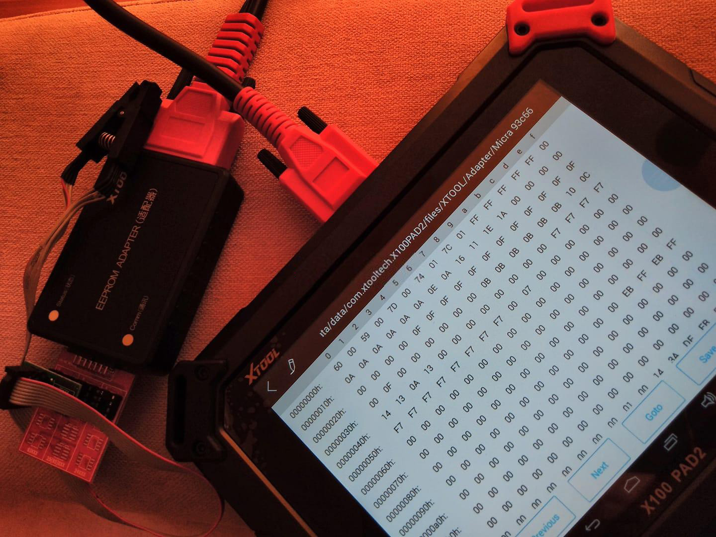 How-to-Read-Write-Eeprom-93c76-by-XTOOL-X100-PAD2-4
