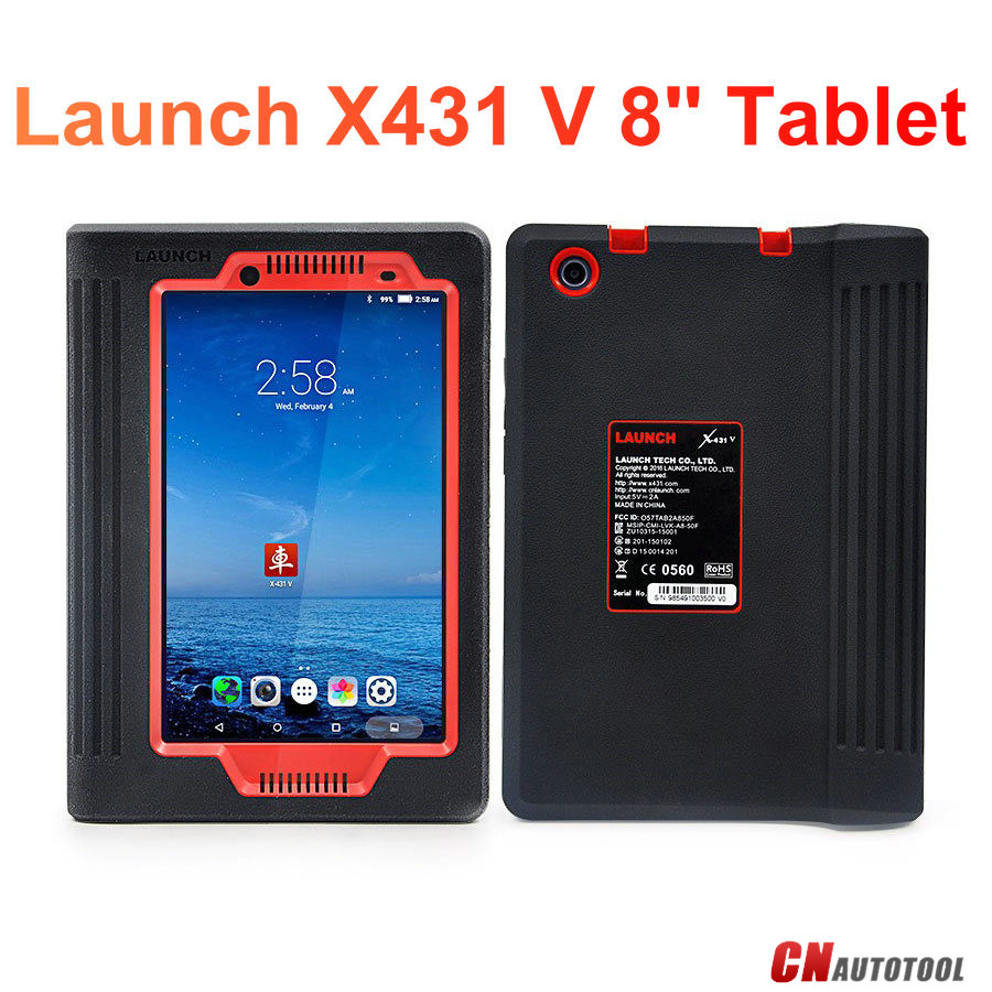 Launch X431 V 8 Inch Support Mercedes Online Programming Vehicle List