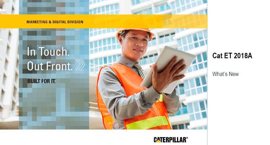 Caterpillar ET 2018A Electronic Technician Diagnostic Software