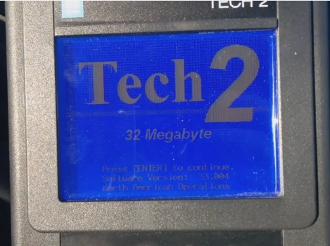 How to Clear ABS Codes using the GM Tech2 Scanner-4