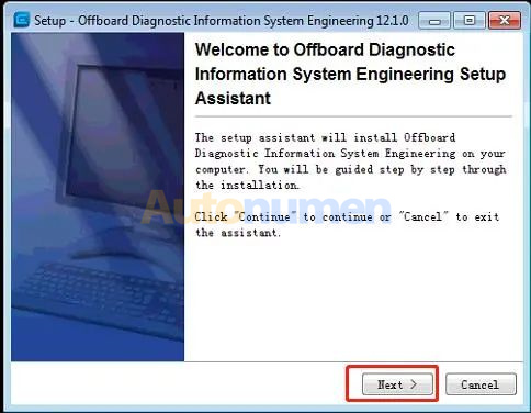 How to Installation ODIS Engineering 12.1-4