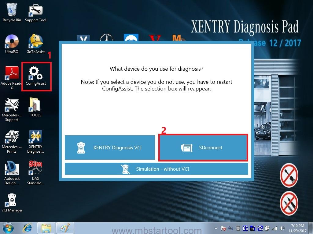 12.How To Activate 2017.12 MB SD Connect C4 C5 Xentry-1