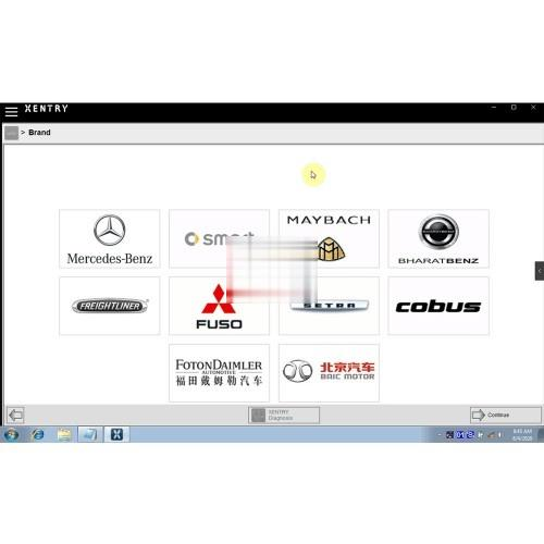 Download Xentry 03.2021 for MB SD C4 Working with Mercedes 2020-1 (2)