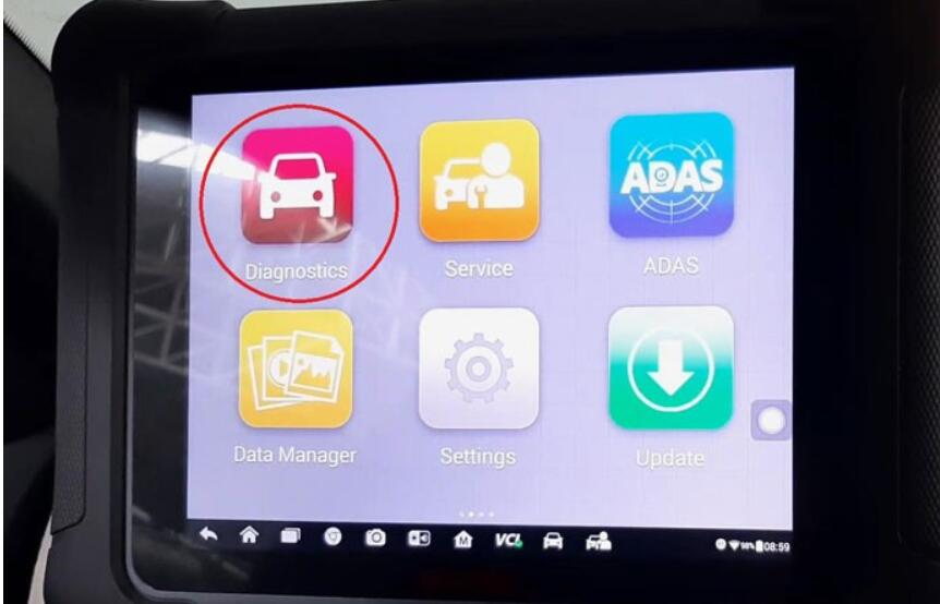 How-to-use-Autel-MaxiSys-Elite-to-delete-transport-mode-for-a-BMW-X6-E71-2012-1