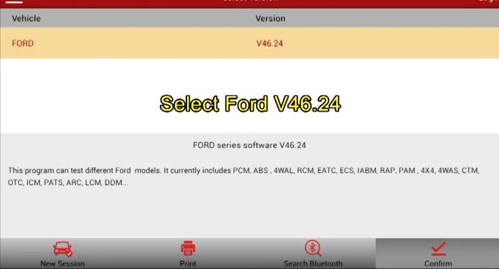 How-to-program-Ford-Focus-Anti-theft-key-by-Launch-X431V+1