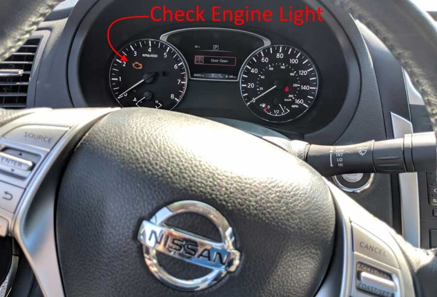 How-to-reset-2005-Nissan-Pathfinder-EML-engine-dash-light-ON-1