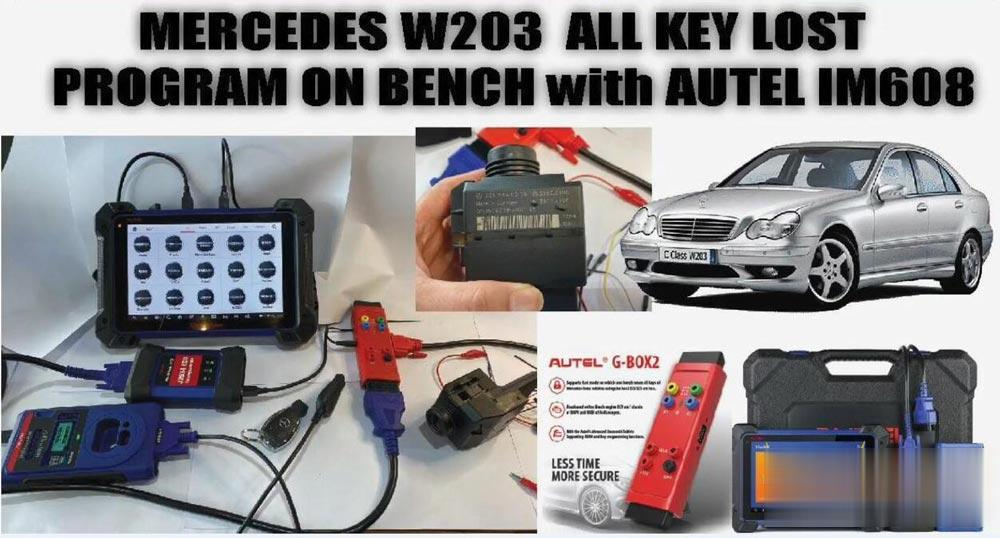 autel-im608-program-mercedes-w203-akl-on-bench-01 (2)