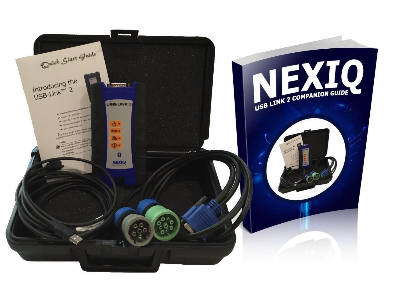 124032 Nexiq USB Link 2 with Companion Guide