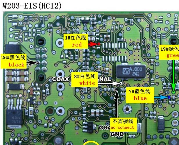 Mercedes Benz All EIS-9089129S12 series Wiring Connection ... on