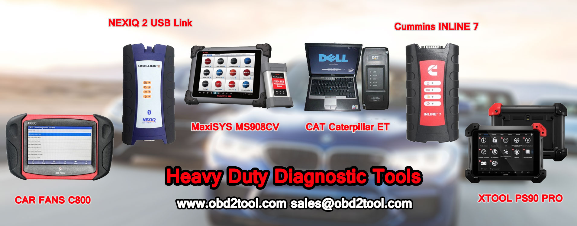 Heavy Duty Diagnostic Tools