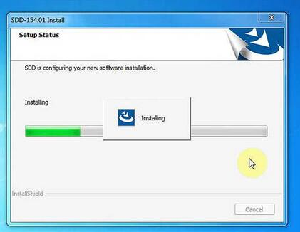 JLR SDD V156 driver & patch free download and win7 install