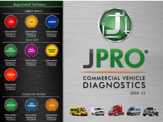 JPRO Professional Heavy Truck Diagnostic Scanner Tool-2