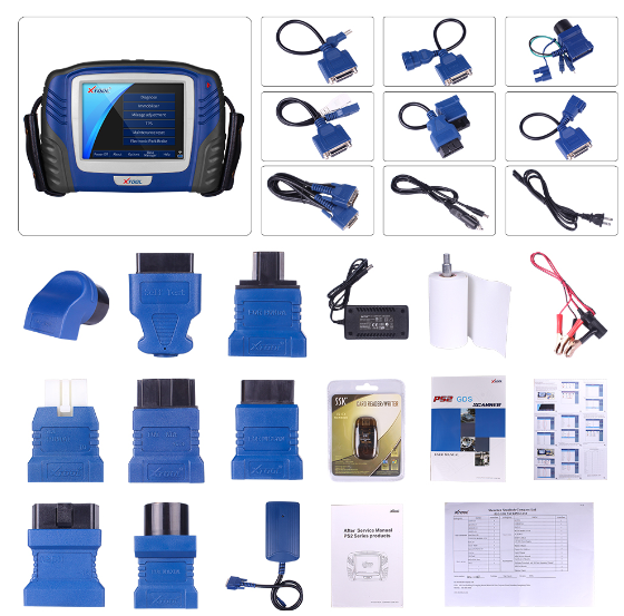XTOOL PS2 HD Heavy Duty Truck Auto diagnostic tool
