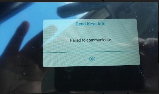xtool-X100-PAD2-Fail-to-do-BMW-Key-2