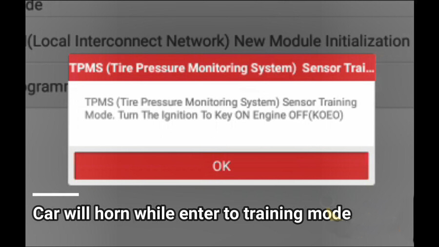 Ford-Mustang-2017-TPMS-relearn-procedure-with-LAUNCH-X431-TSGUN-12