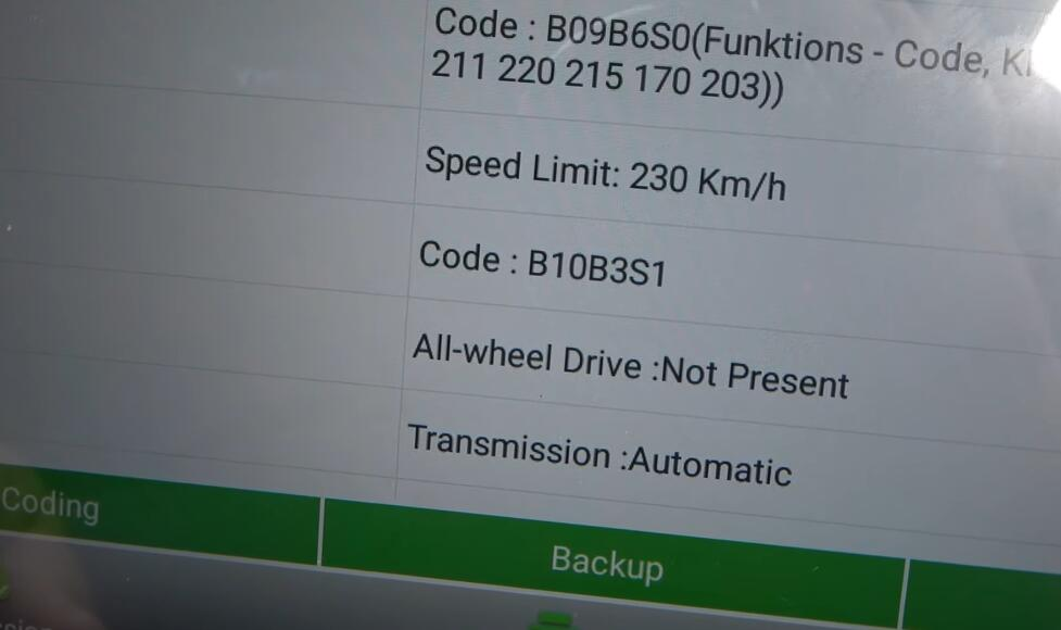 How-to-increase-speed-limiter-on-Mercedes-with-Launch-x431-pro-diagnostic-tool-10