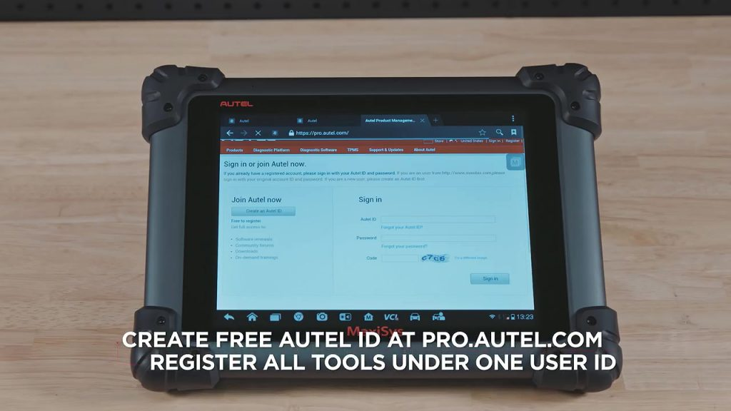 How-to-Register-Autel-MaxiSys-ID-and-Update-Autel-Software-1