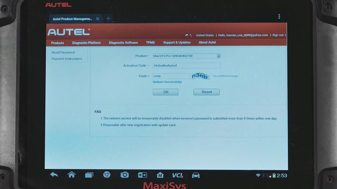 How-to-Register-Autel-MaxiSys-ID-and-Update-Autel-Software-12