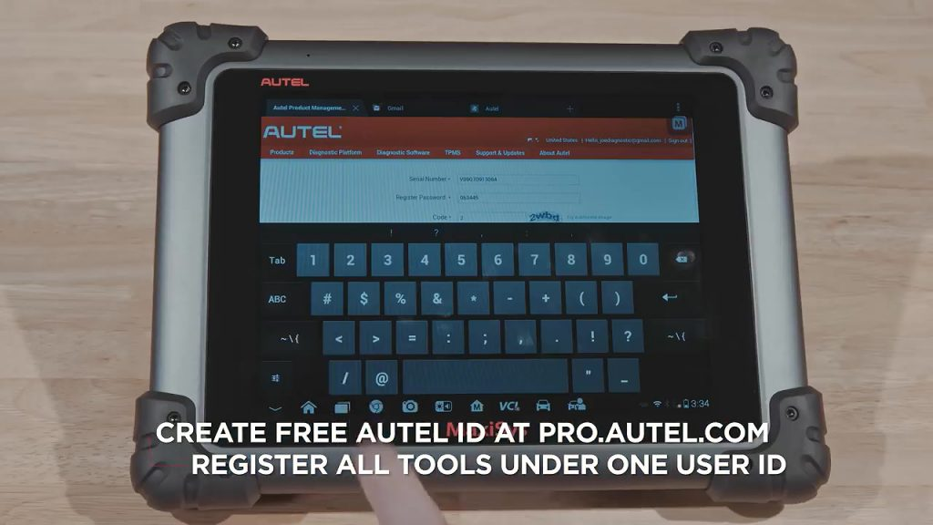 How-to-Register-Autel-MaxiSys-ID-and-Update-Autel-Software-2